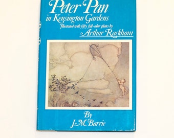 Peter Pan in Kensignton Gardens book