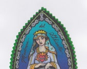 Madonna del Ghisallo the Patron Saint of Cyclists Patch