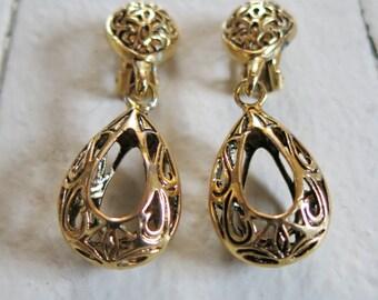 Bohemian style Clip earrings