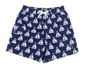 Custom Monogram Boy's Swim Suit - Summer Monogram - Vacation - Kid's Bathing Suit - Birthday Bathing Suit - Boy's Swimming Trunks