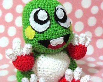 Bubble Bobble BUB **PATTERN ONLY**