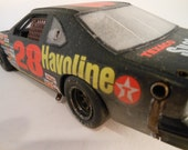 Classicwrecks Rusted Scale Model Ford Thunderbird Nascar Car