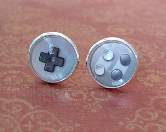 20% OFF -- 16 mm Game Controller Cuff Links Mens Accessories, Perfect Gift Idea