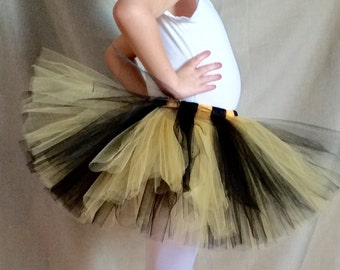 Black and Yellow Tutu, for babies and toddlers