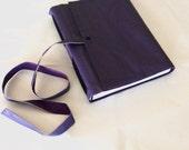Little Purple Book-Handmade Leather Journal