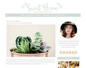 Feminine WordPress Theme - Sweet Home - Customizable Theme