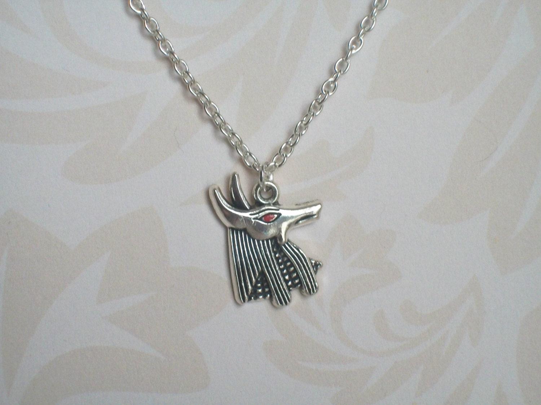 anubis necklace god of afterlife osiris