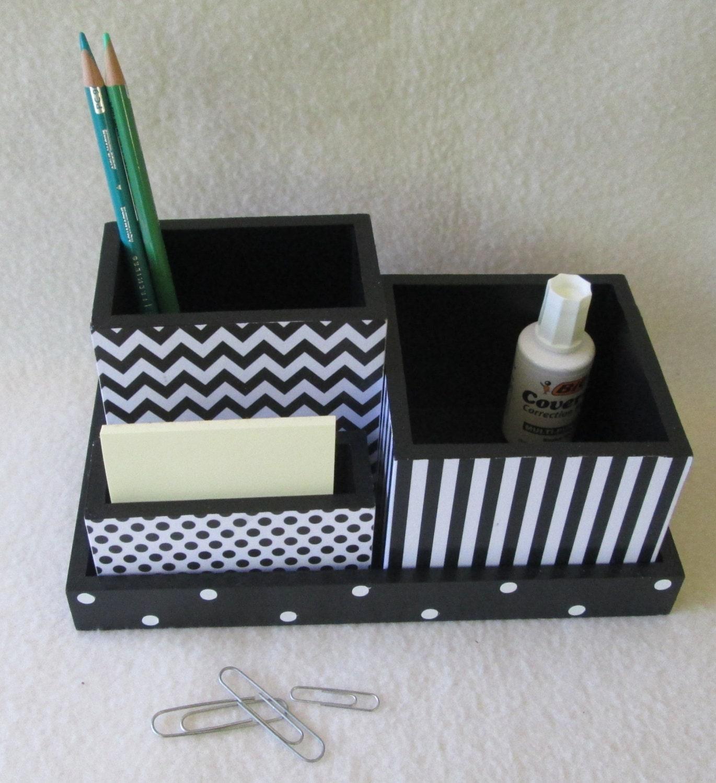 Office or home organizer desk organizer desk set black - Desk set organizer ...