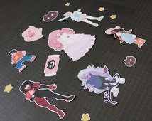 Steven Universe Sticker Set - Mini