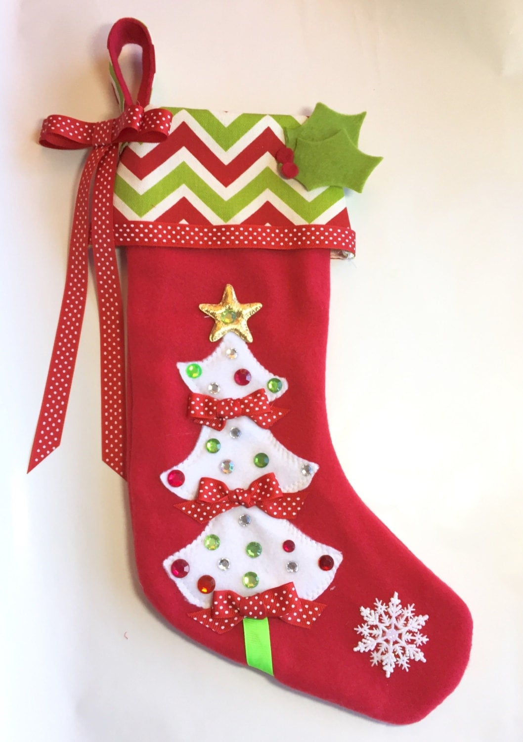 Girls Christmas Stocking