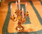 Candleabra, Miniature for Dollhouse