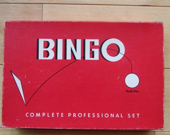 Vintage Bingo Built-Right Game