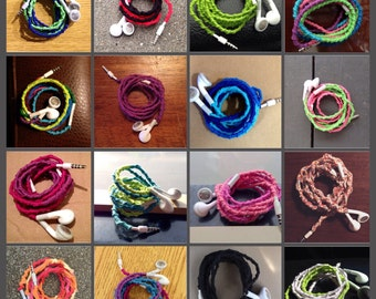 No Tangle In Ear Earbuds for iPhone 4S, iPhone 5, iPhone 5S, iPhone 6, iPhone 6 Plus, iPod Classic, iPod touch, accessories