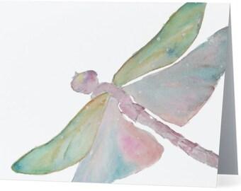 """Dream Dragonfly Greeting Card - 5.5"""" x 4"""""""