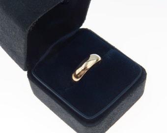 Tiffany & Co 14k Gold Wedding Band Ring Size 5