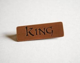 Copper Pin - King
