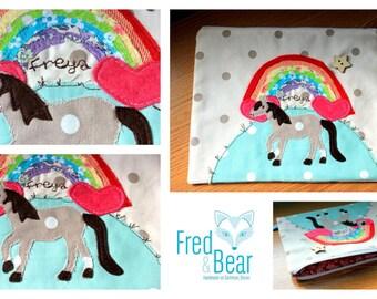 Rainbow Horse Pencil Case
