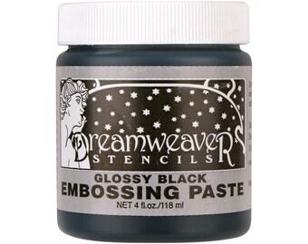 Dreamweaver Glossy Black Embossing Paste DWDGKP