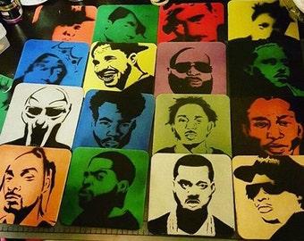Hip Hop Coaster Set (*Pick Your 6!)