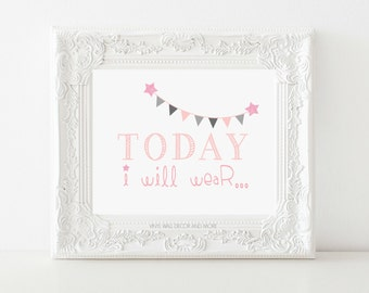 Today I will Wear- Digital Download