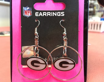 Green Bay Packers earring