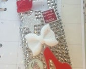 Cute, Bling, Deco Handmade Phone Case - Prayer, Hustle