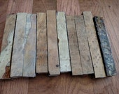 10 Stabilized  redwood burl Pen Blanks