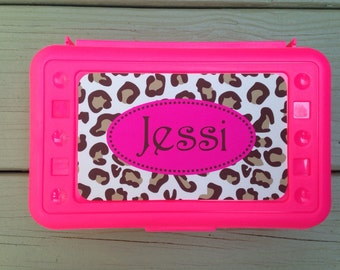 Personalized Monogrammed Pencil Box - Design Your Own
