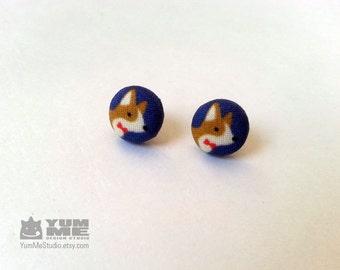 Corgi Earrings (Made to Order)