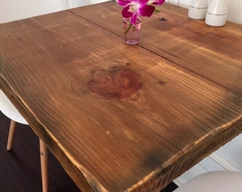 Restaurant Table Top - Reclaimed Wood Table