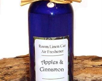 APPLES & CINNAMON - Linen / Car / Room Spray - 4 oz