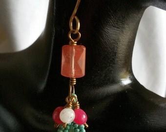 Boho Chic Petina Earrings, Bohemian,Gift
