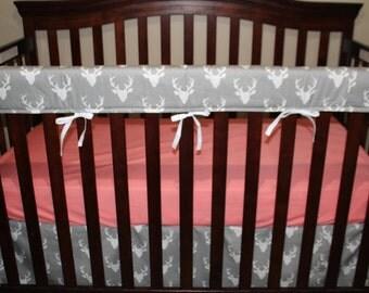 Baby Crib Skirt - Buck Crib Skirt