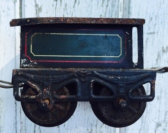 Karl Bub Co. Antique O Gauge Tender Train Car
