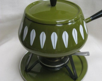 Vintage Cathrineholm Fondue Set