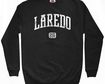 Laredo 956 Texas Sweatshirt - Men S M L XL 2x 3x - Laredo Crewneck - 4 Colors