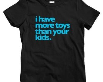 Kids Toy Fetish T-shirt - Baby, Toddler, and Youth Sizes - Rotofugi Tee, Vinyl Toys, Designer, Kaiju, Toy Lover - 4 Colors