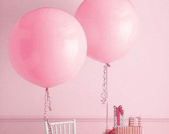 Huge 36 inches Balloon for birthdays, gender reveal parties, centerpieces, photo props, weddings, birthdays.
