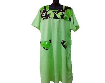 Back Open Dress Adaptive Clothing Comfort Clothes By