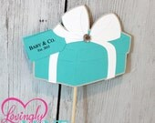 Deluxe Custom Sign Toppers, Prefect Addition to any Centerpiece - 6 Piece Set