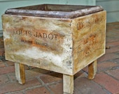 Louis Jadot Wine Crate Planter Box - Home and garden,  Outdoors and Gardening, Garden box