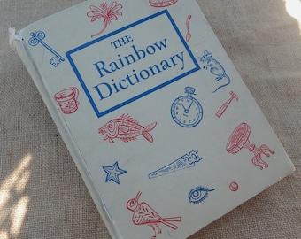The Rainbow Dictionary  Copyright 1959  ~  Children's Dictionary  ~  The Rainbow Dictionary