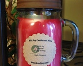 16oz SOY Candle. Natural. Eco Friendly. Long Burning. Choose Your  Scent. Made To Order