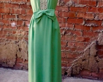Vintage Green Gown