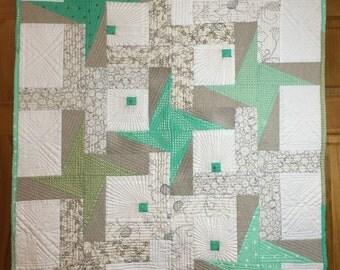 Pinwheels Plus Modern Quilt