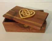 Celtic Heart Jewelry/Trinket Box