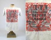 RARE 1980 DOA Something Better Change Hardcore T Shirt