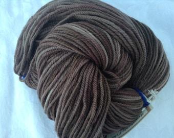 "Terra Firma -  Hearthside Fibers ""Extravagance"" - Polwarth/silk DK - Hand Dyed"