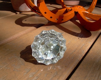 Single Glass Crystal Door Knob