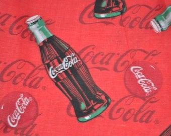 Coca Cola Fabric Etsy